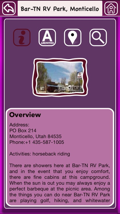 Utah Campgrounds Offline Guide