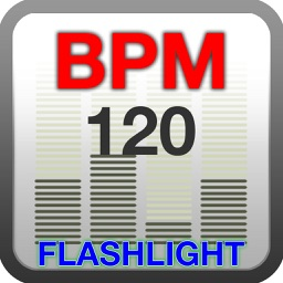 BPM Finder: Flash Torch at Music Beat Per Minute Rate