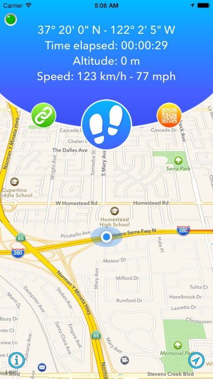 FollowMe - Share your GPS tracking in real time