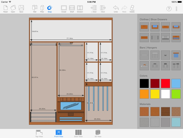 Sketch Arm - 3D Closet Designer screenshot-1