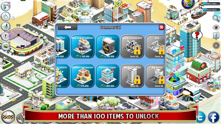 City Island: Winter Edition - Builder Tycoon - Citybuilding Sim Game, from Village to Megapolis Paradise - Free Edition