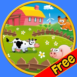my kids and farm animals - free