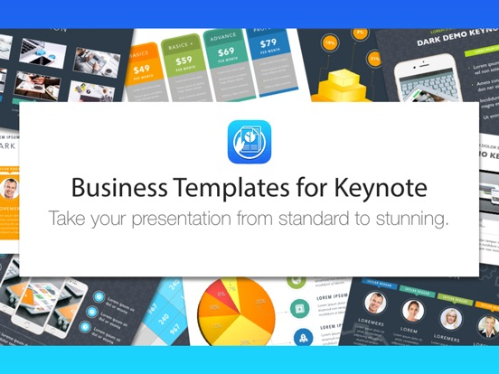 Business templates for keynote app price drops screenshot 4 for business templates for keynote flashek Image collections