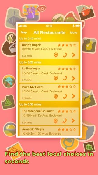 Screenshot for Where To Eat? PRO - Cari restoran menggunakan GPS in Malaysia App Store
