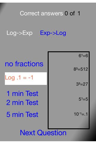 Basic Logarithm Practice 2 - náhled
