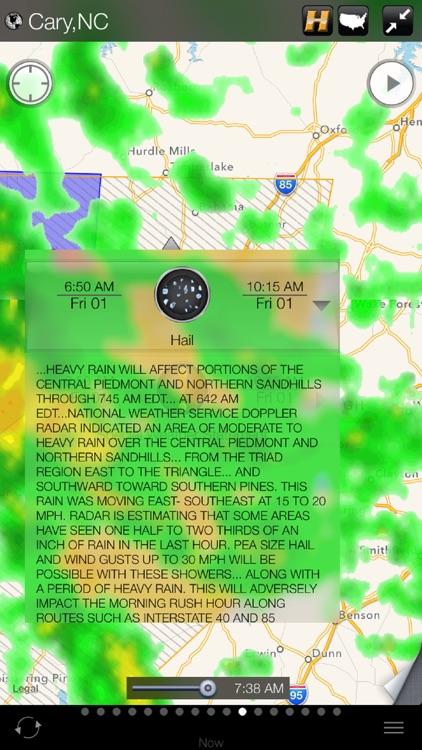 Early Warning Hail Alert and Weather App by HAIL PROTECTOR