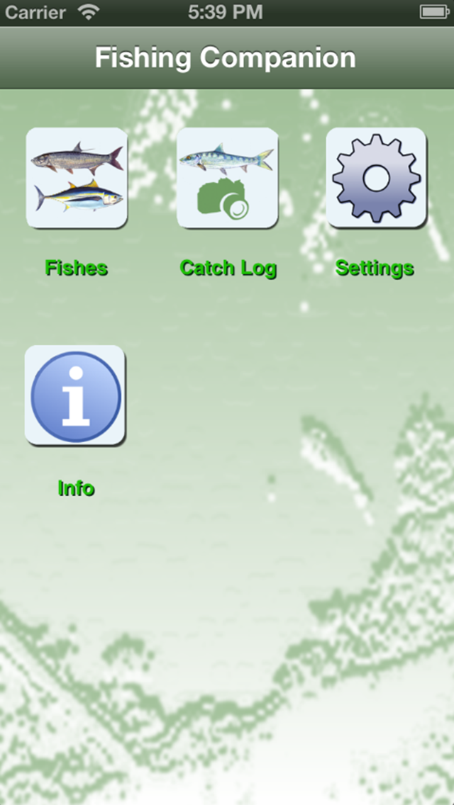 NC Saltwater Fishing Companion Screenshot