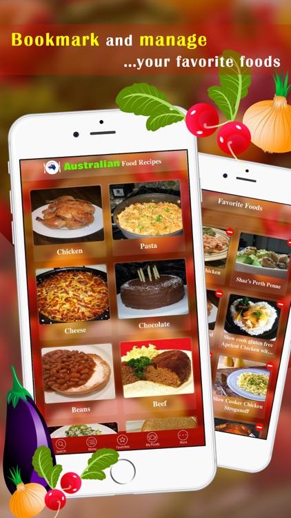 Australian Food Recipes screenshot-3