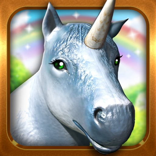 My Unicorn Horse Riding . Free Unicorns Dash Game For Little Girls and Boys iOS App