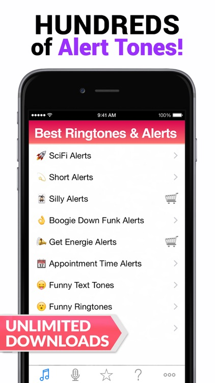2015 Best Ringtones for iPhone - 5 Apps in 1