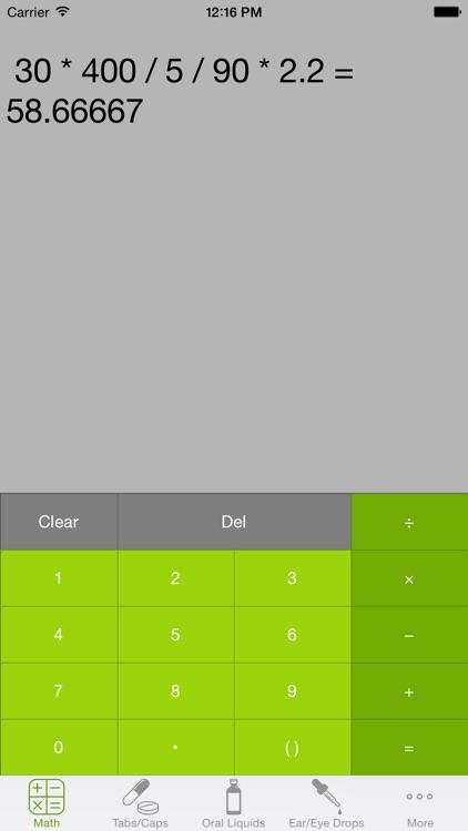CalcRx screenshot-3