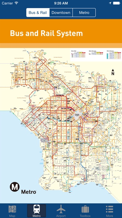 ロサンゼルスオフライン地図 - 市メトロエ... screenshot1