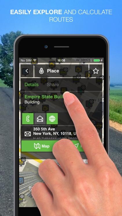 NLife Explorer - Offline GPS Navigation, Traffic & Maps