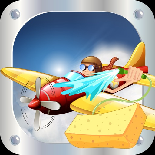 Plane Wash - Little kids auto washing, repairing and fun cleaning spa game iOS App