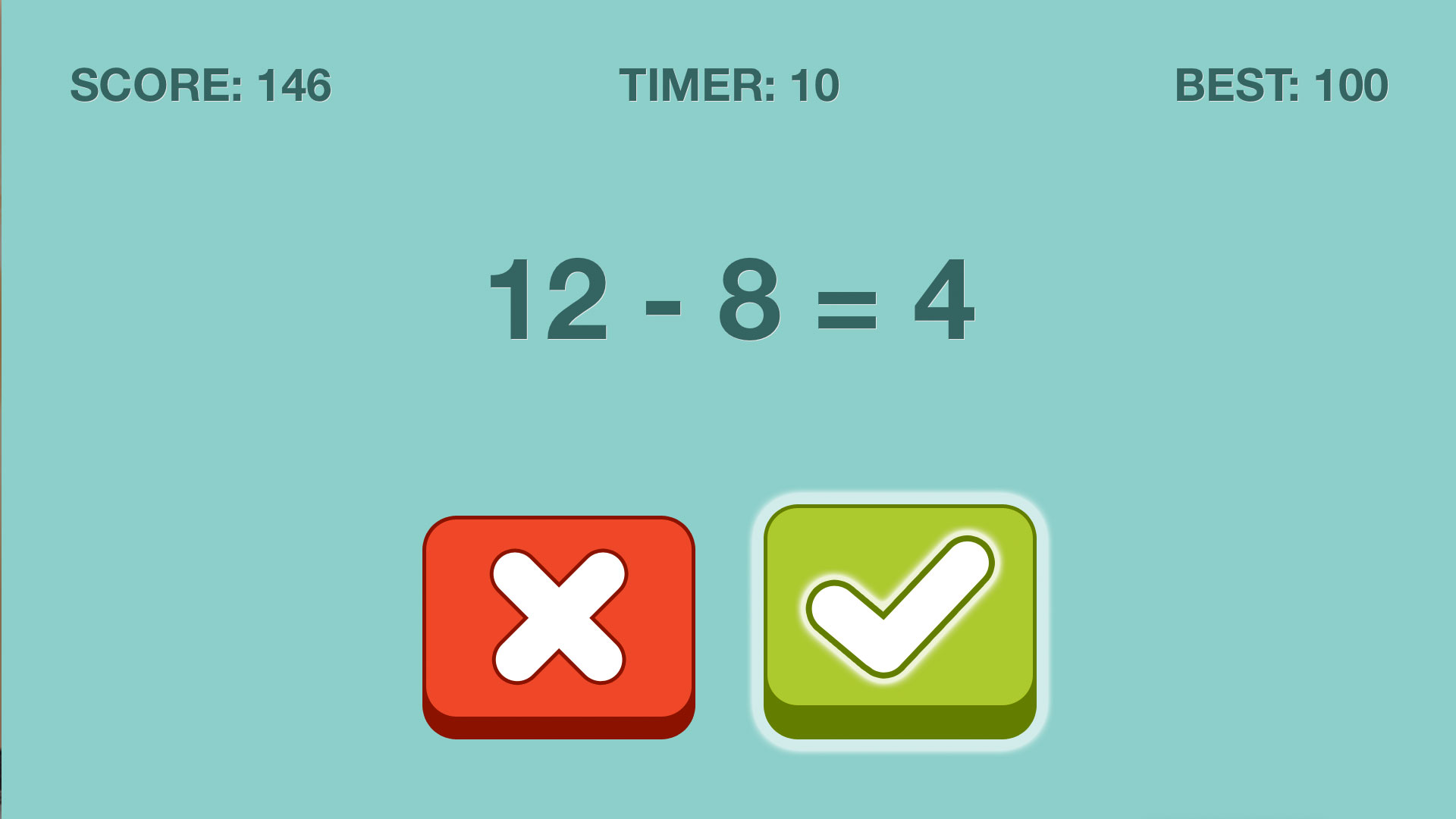 Quick Checkers Math Puzzle screenshot 5