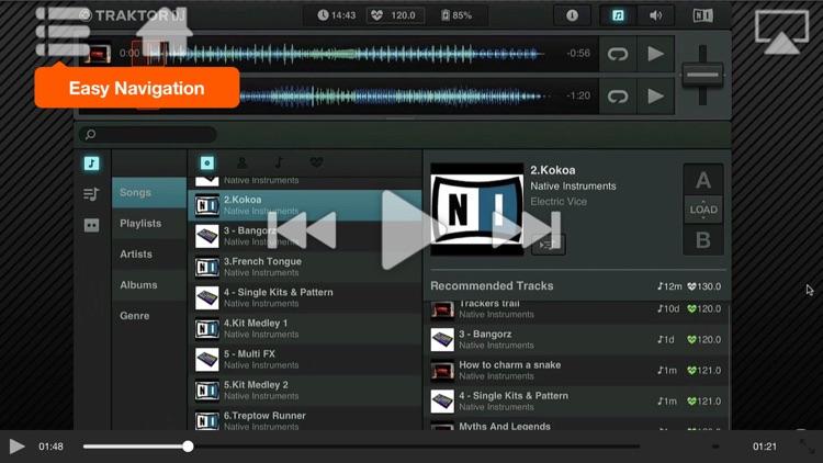 AV For Traktor DJ For iPad screenshot-3