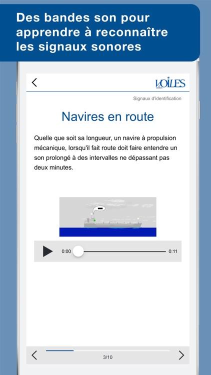Feux & marques des navires - Voiles et voiliers - Au programme du Permis Côtier screenshot-4