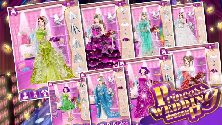 princess wedding dressup !!!!
