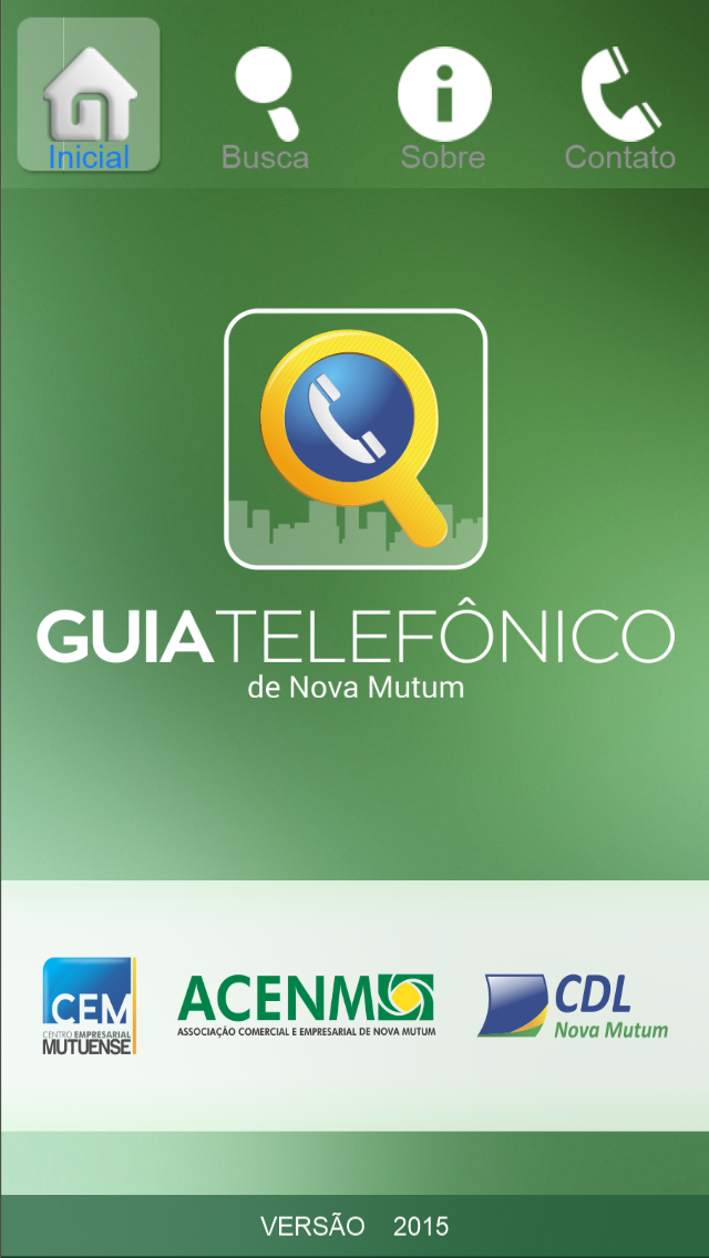 点击获取Guia Telefônico ACENM/CDL