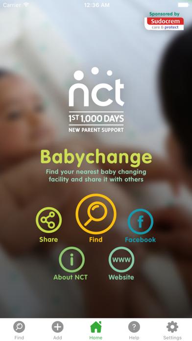 NCT Babychange screenshot one