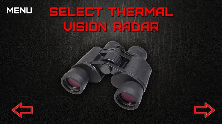 Thermal Vision Radar Joke