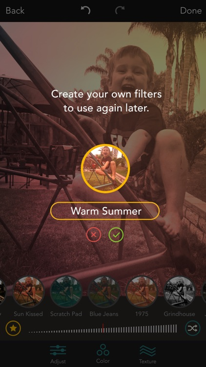 Shift - Create Custom Filters with Textures, Gradients, and Blends screenshot-3