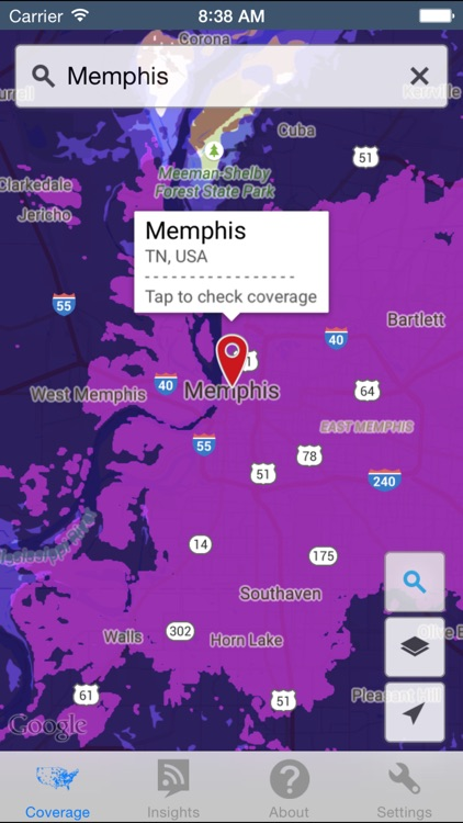 CellMaps Mobile Coverage screenshot-2