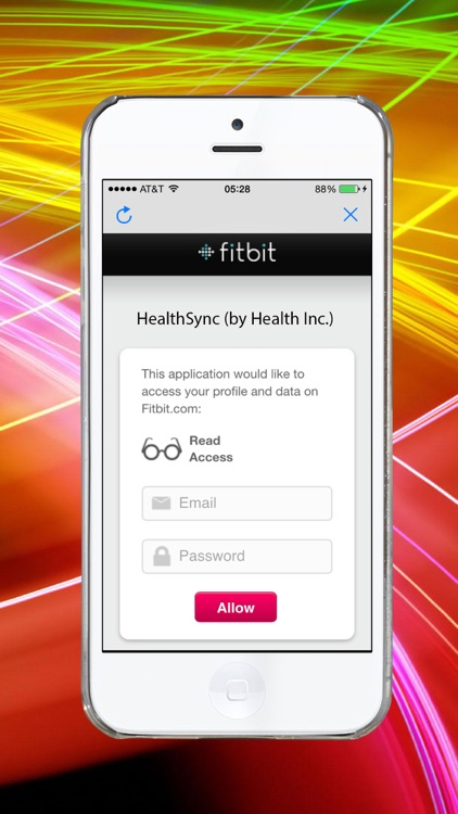 Sync from Fitbit to Health app
