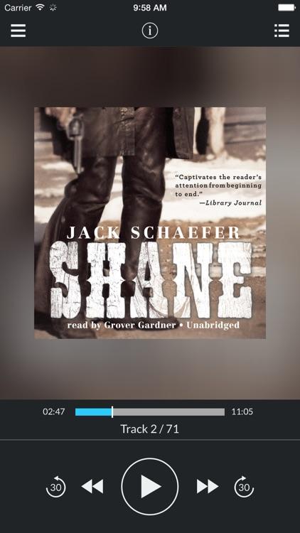 Shane (by Jack Schaefer) (UNABRIDGED AUDIOBOOK)