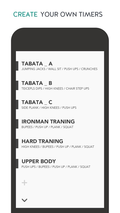 TABATACH - Interval Workout Timer for High Intensity Interval Training (HIIT) : TABATA & any Circuit Training screenshot-3