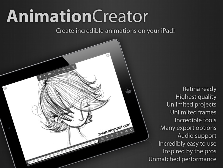 Animation Creator HD screenshot-0