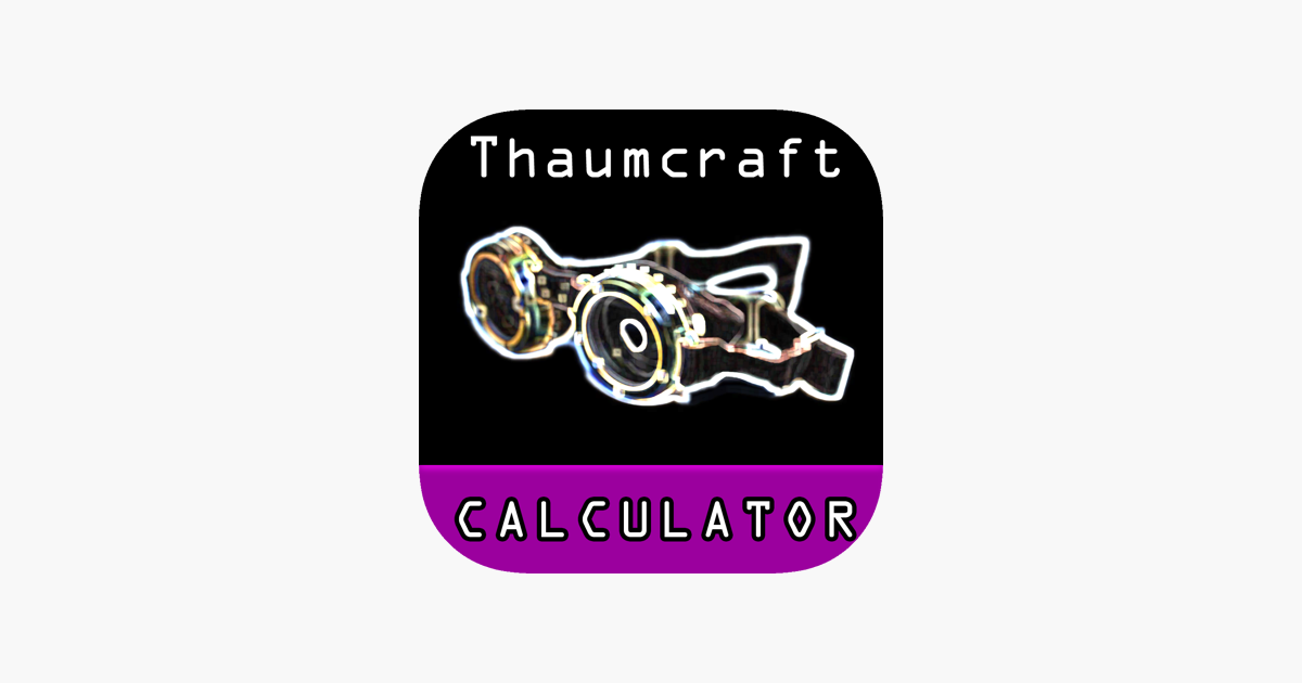 Calculator for Thaumcraft on the App Store