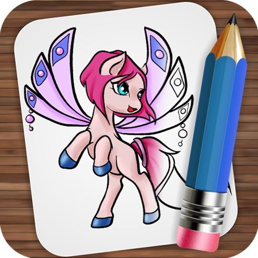 Рисуем Сказочных Пони