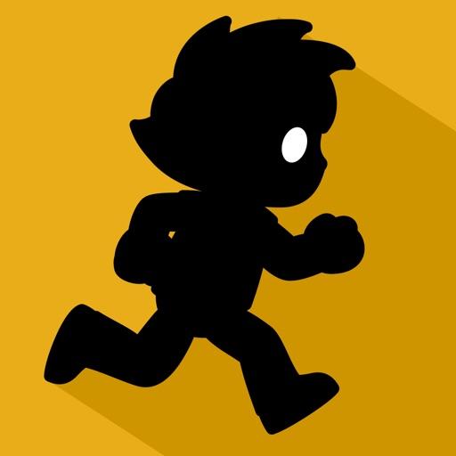 Темнота Тире Игра Бегать И Прыгать Бесплатные