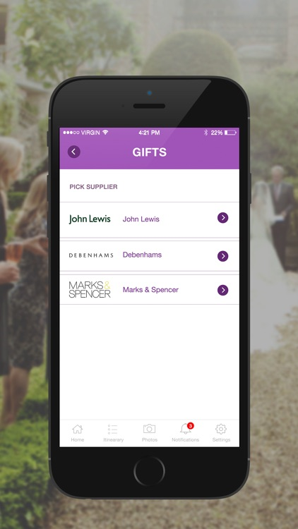 WedMate – The Ultimate Social Wedding Planner List App screenshot-4