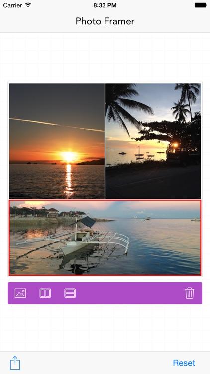 Photo Framer - photo collage maker