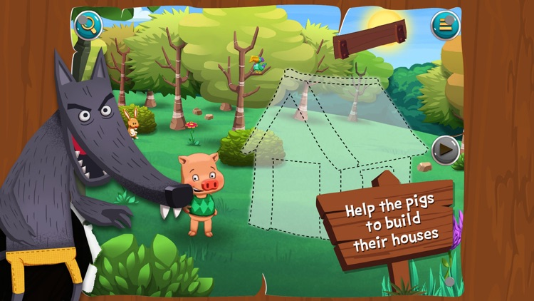 The Three Little Pigs - Search and find screenshot-3