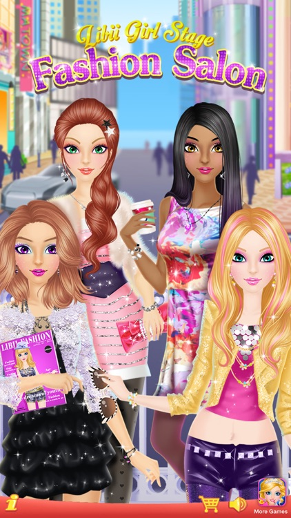 Fashion Salon™ - Girls Makeup, Dressup and Makeover Games