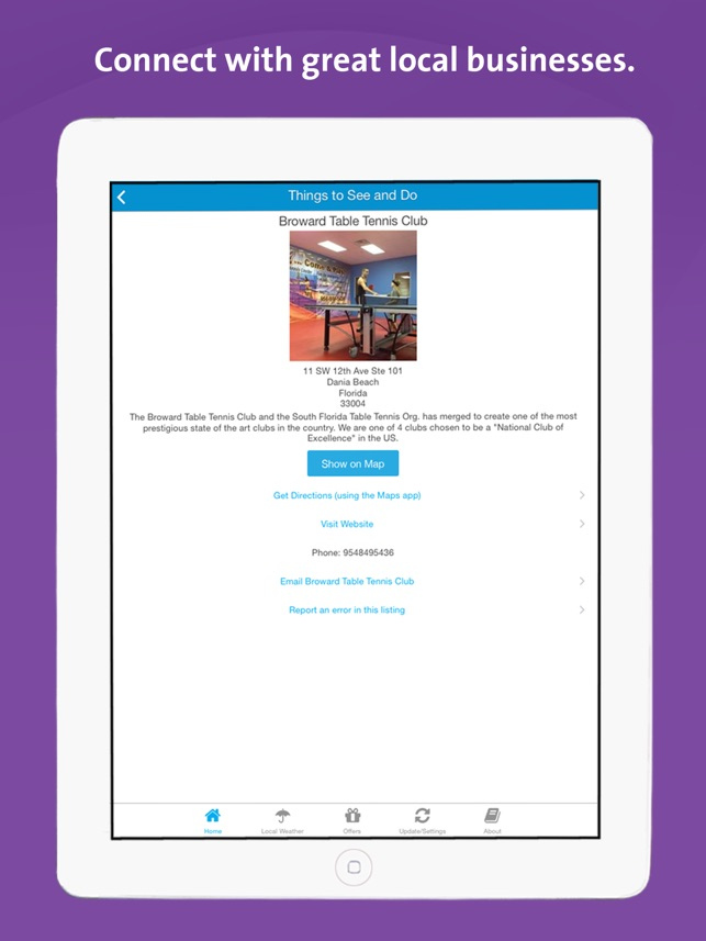 Dania Beach Florida Map.Dania Beach App Florida Local Business Travel Guide On The App