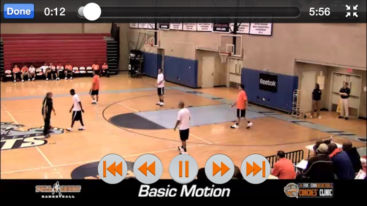 Offense: Transition, Motion & More - With Coach Mitch Buonaguro - Full Court Basketball Training Instruction screenshot-4