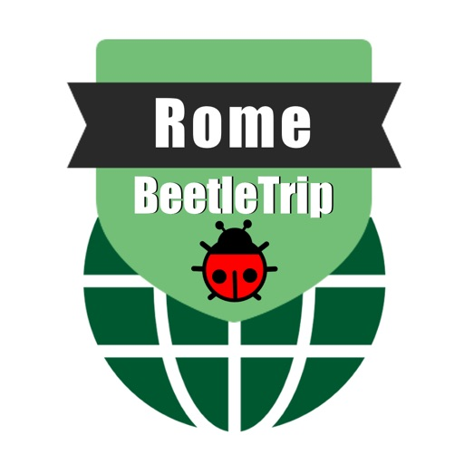 Rome travel guide and offline city map, Beetletrip Augmented Reality Rome Metro Train and Walks