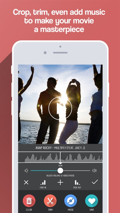 Merge Video + Combine and Mix Movie Clips & Slideshows Together for Vine and Instagram screenshot-3