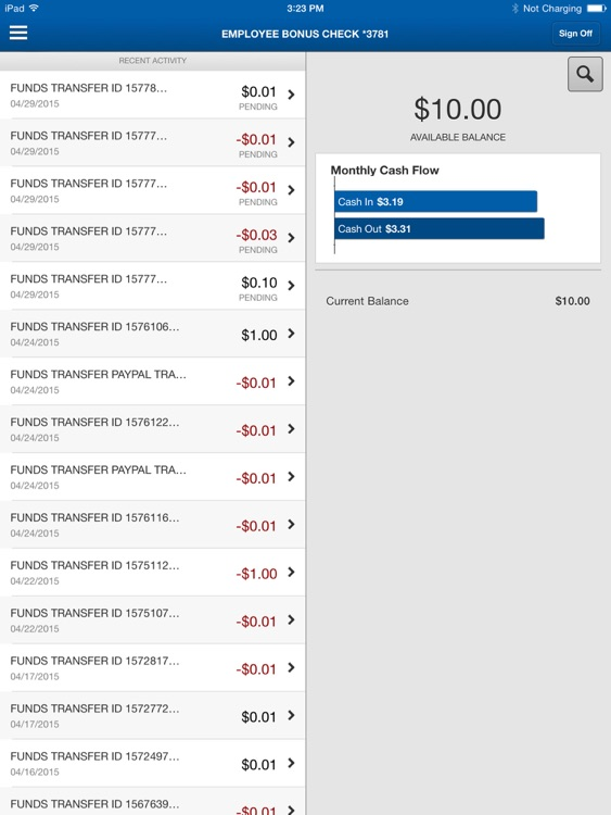 TBBK Employee Banking for iPad