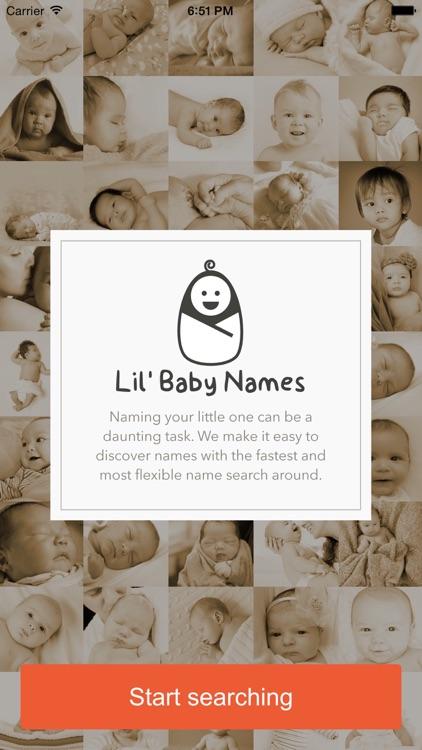 Lil' BabyNames