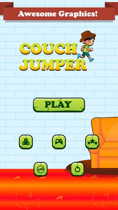 Speed Couch Man Jump