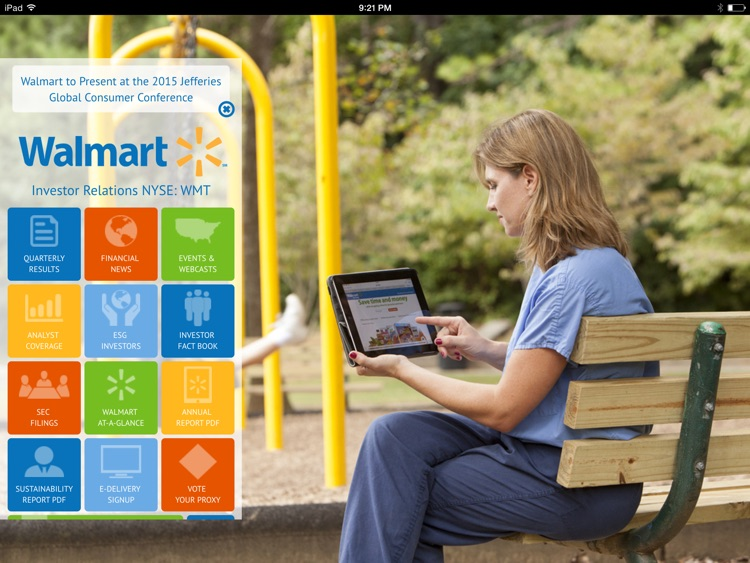 Walmart Investor Relations screenshot-3