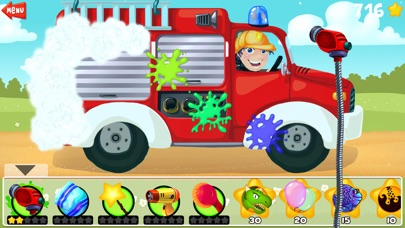 Amazing Car and Truck Wash - The free funny cars cleaning game for little kids and toddlers lite-0