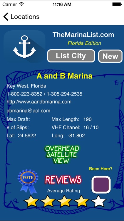 The Florida Marina Guide - Details on 840+ Marinas screenshot-2