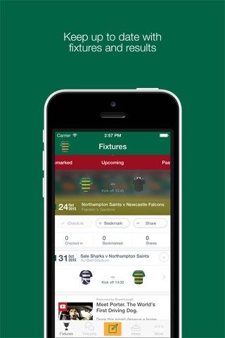 Fan App for Northampton Saints - náhled