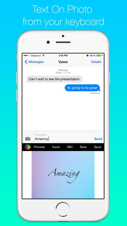 Read To Me Keyboard Free - Create cool color themes, use text to speech tts with voice speak rate and gif emoji screenshot-3